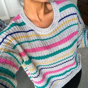 Colorful Darling Sweater 💕